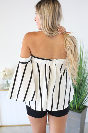 Caribbean Babe Striped Top - ShopSpoiled