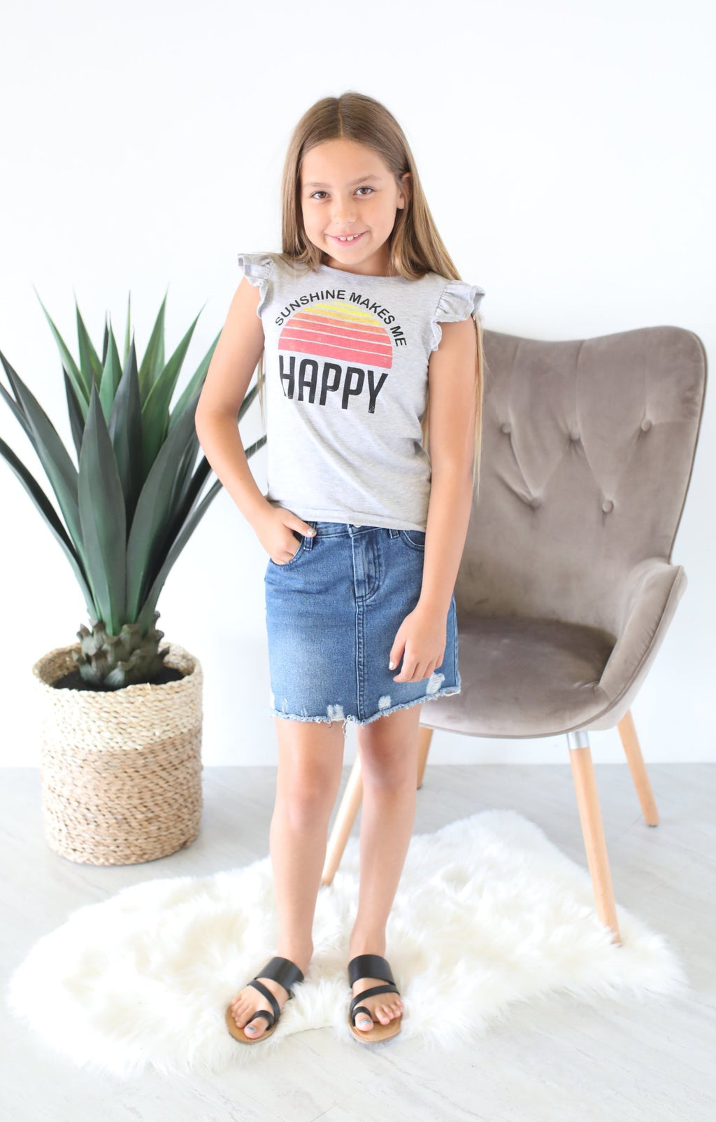 Kids Sunshine Top - ShopSpoiled