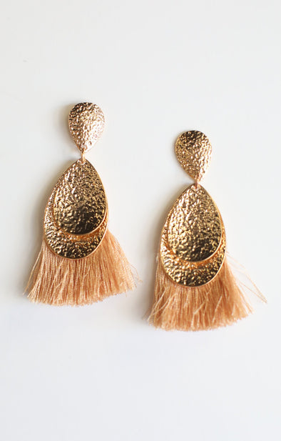 Chunky Tassel Earrings - ShopSpoiled