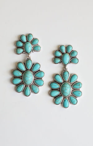 Western Flower Earrings - ShopSpoiled