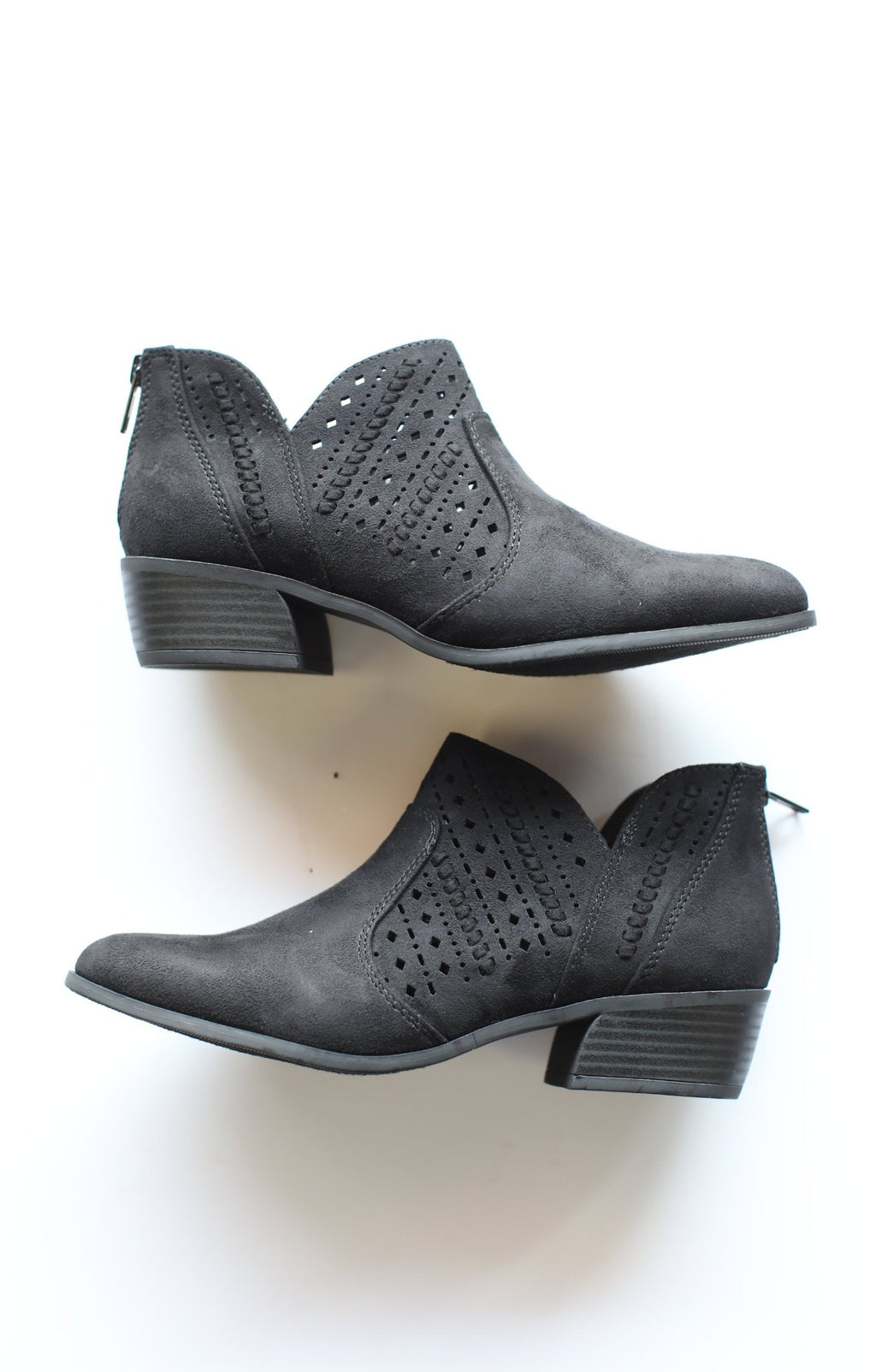 Emerge Booties: Black - ShopSpoiled