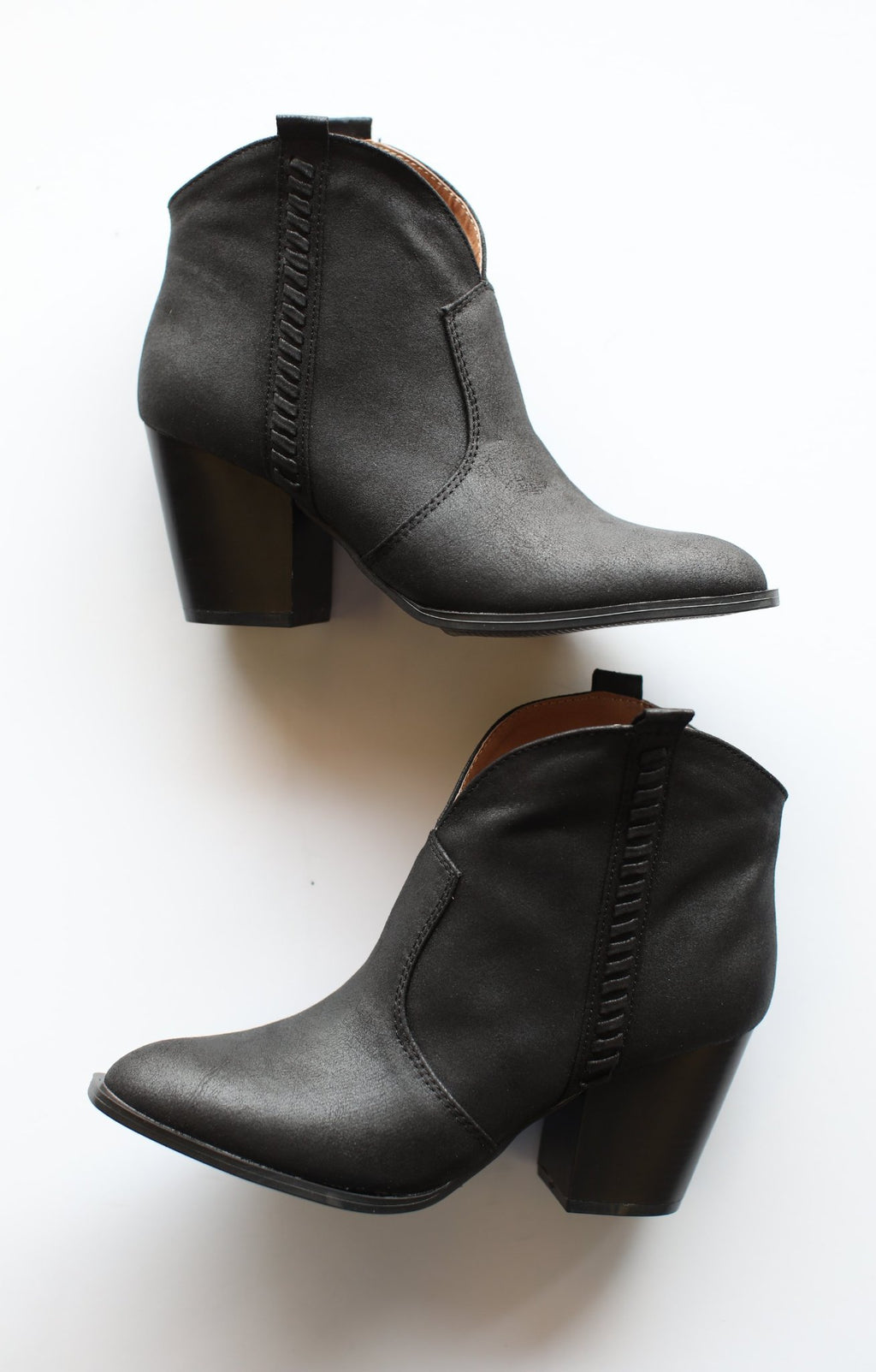 Prenton Booties: Black - ShopSpoiled