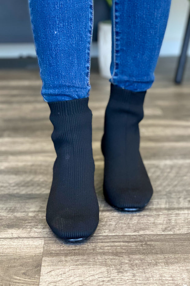 Juno Sock Booties - ShopSpoiled