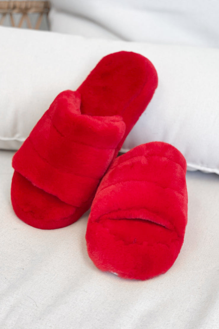Red Hot Slippers - ShopSpoiled