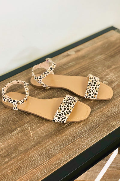 Sadie Sandals: Cheetah - ShopSpoiled