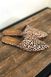 Evita Mules: Cheetah - ShopSpoiled