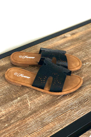 Rosemary Sandals: Black - ShopSpoiled