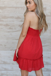 Sparks Fly Dress: Red - ShopSpoiled