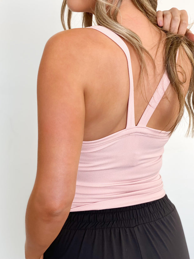 Basic Shannon Ribbed Cami - ShopSpoiled