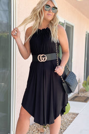Sunny Day Dress: Black - ShopSpoiled
