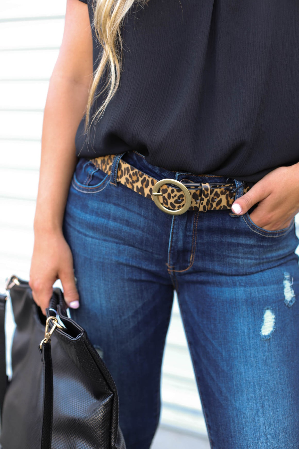 Major Danger Leopard Belt - ShopSpoiled