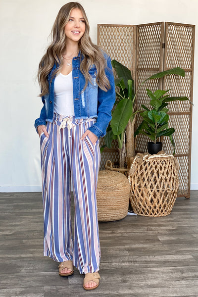 Wild Success Pants: Blue - ShopSpoiled