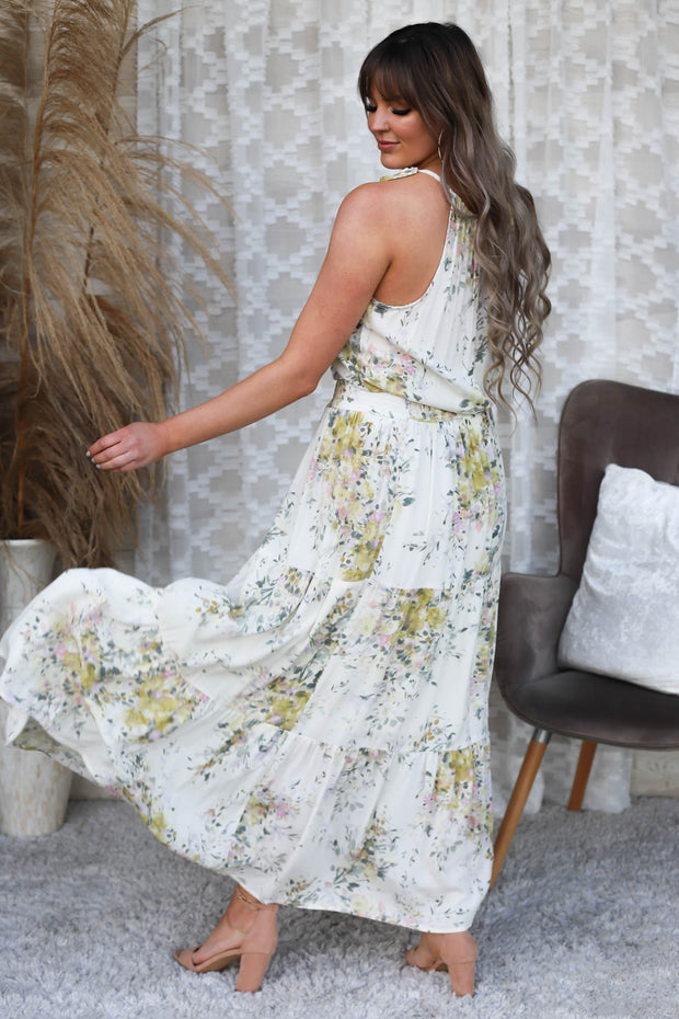 Floral Thrill Maxi Dress - ShopSpoiled