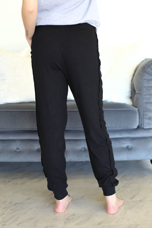 Aria Pants: Black - ShopSpoiled