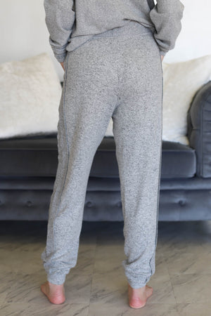 Aria Pants: Grey - ShopSpoiled