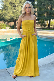 Summer Evening Maxi Dress - ShopSpoiled