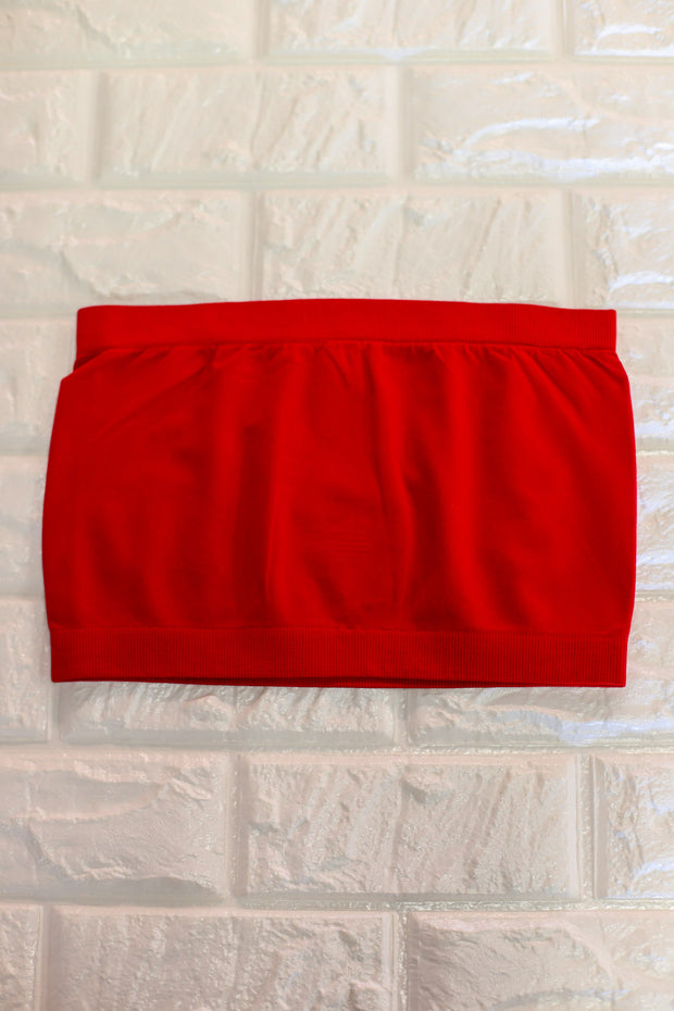 Basic Bandeau: Red - ShopSpoiled