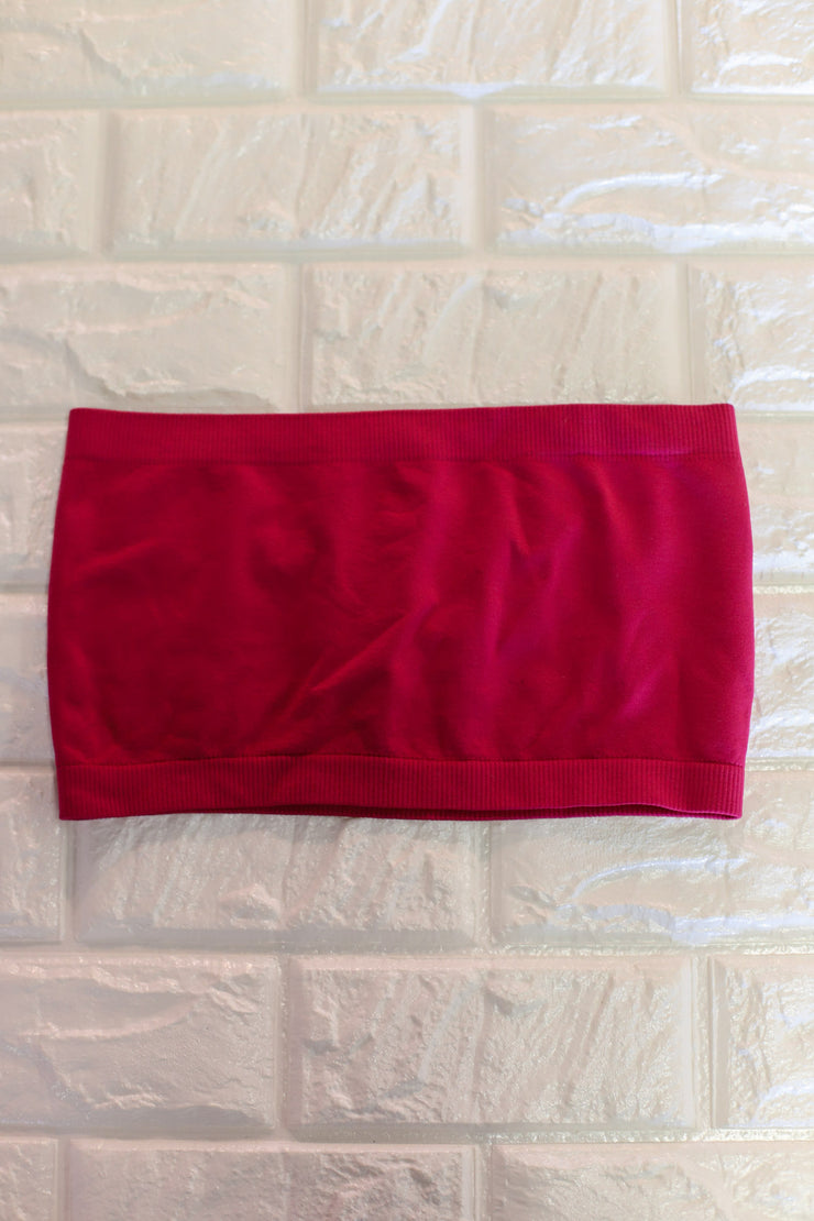 Basic Bandeau: Magenta - ShopSpoiled