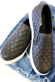 Gina Quilted Sneaker - ShopSpoiled