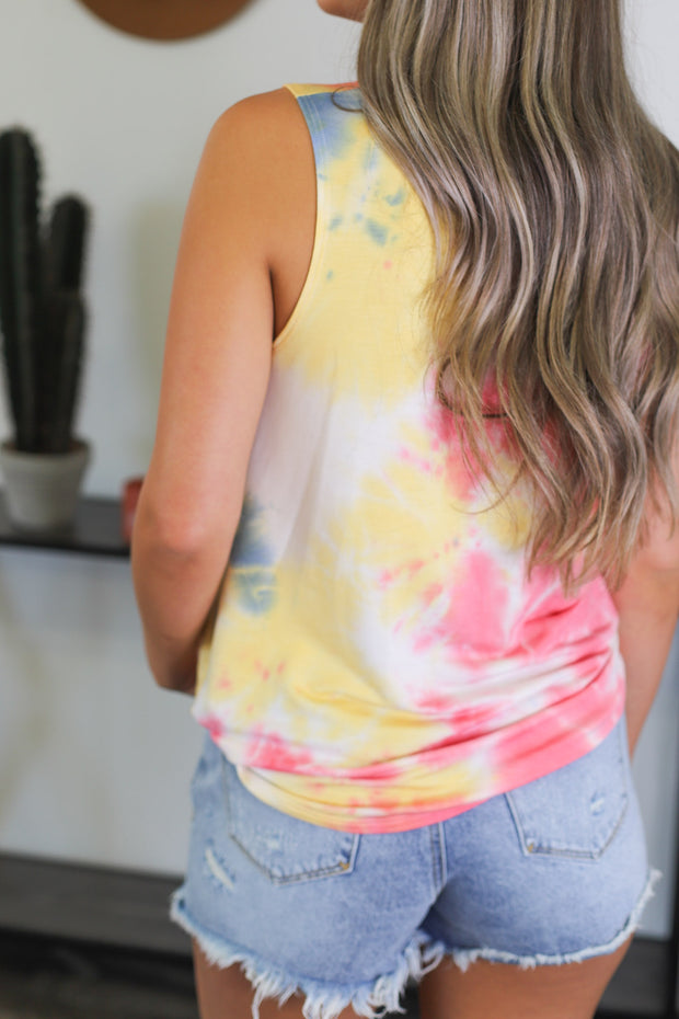 Summer Skies Tank - Shop Spoiled Boutique