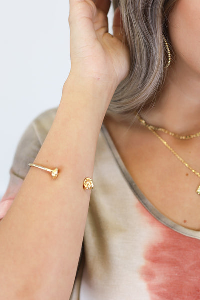Knot Your Average Bracelet: Gold - ShopSpoiled