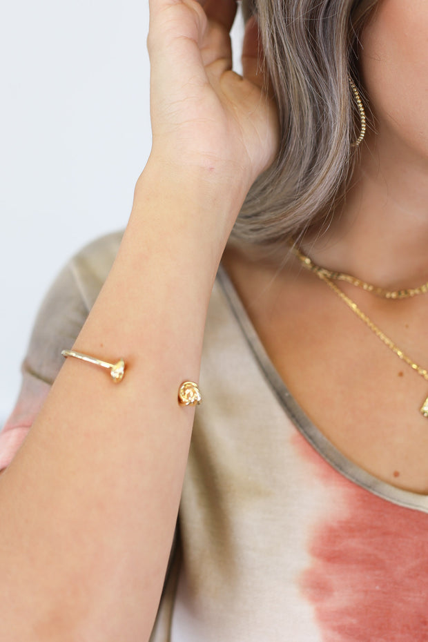 Knot Your Average Bracelet: Gold - Shop Spoiled Boutique