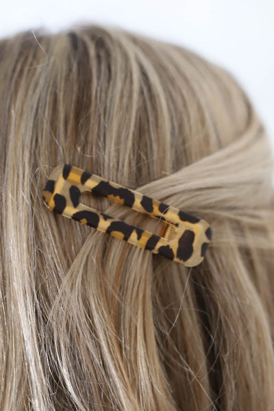 Large Acrylic Hair Clip - ShopSpoiled