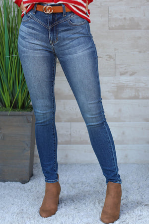 Dolly High Rise Jeans - ShopSpoiled
