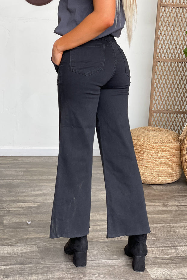Olivia Wide Leg Jeans - ShopSpoiled