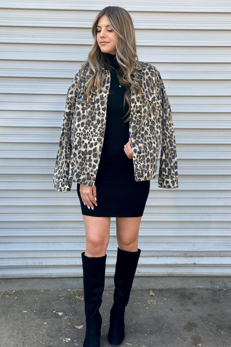 Lexi Leopard Jacket - ShopSpoiled