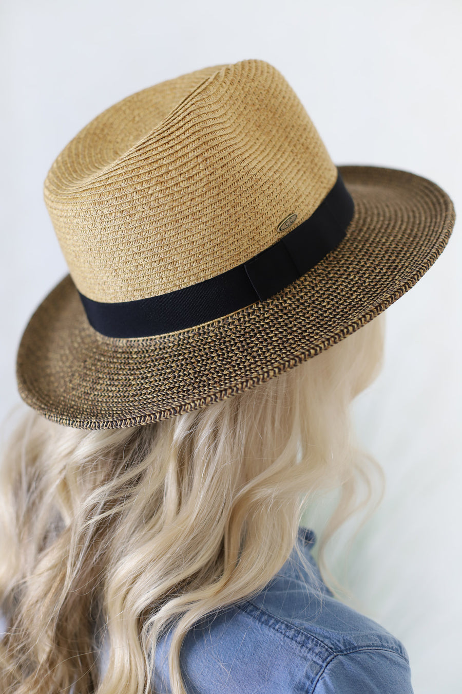 Two Toned Beach Hat - ShopSpoiled