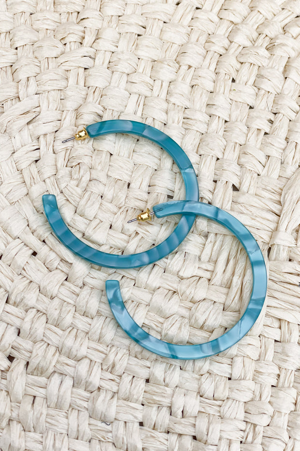 Luna Hoop Earrings - ShopSpoiled