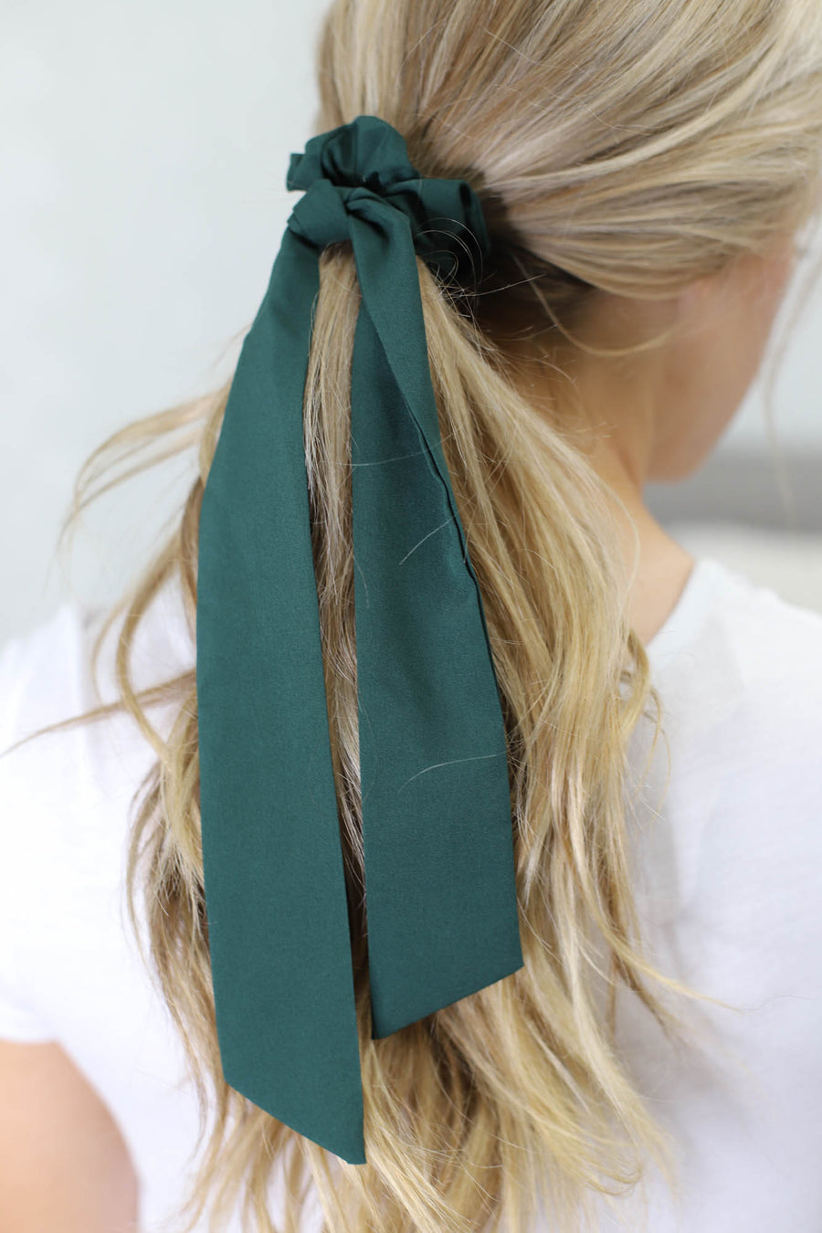 Solid Hair Scarf: Hunter - ShopSpoiled