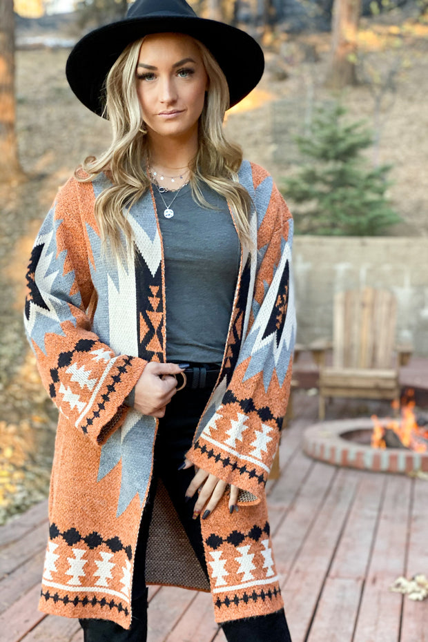 Keep the Ranch Cardigan - Shop Spoiled Boutique