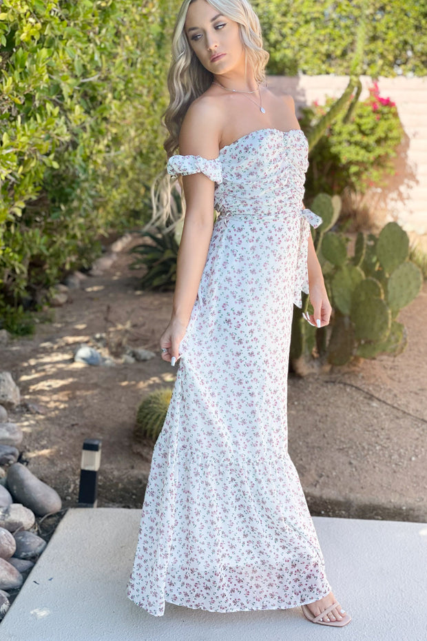 Fresh Take Floral Maxi Dress - ShopSpoiled