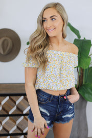 Easy Going Top: Ivory - ShopSpoiled