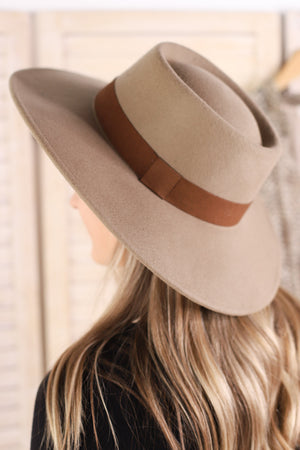 Lolita Hat: Tan - ShopSpoiled