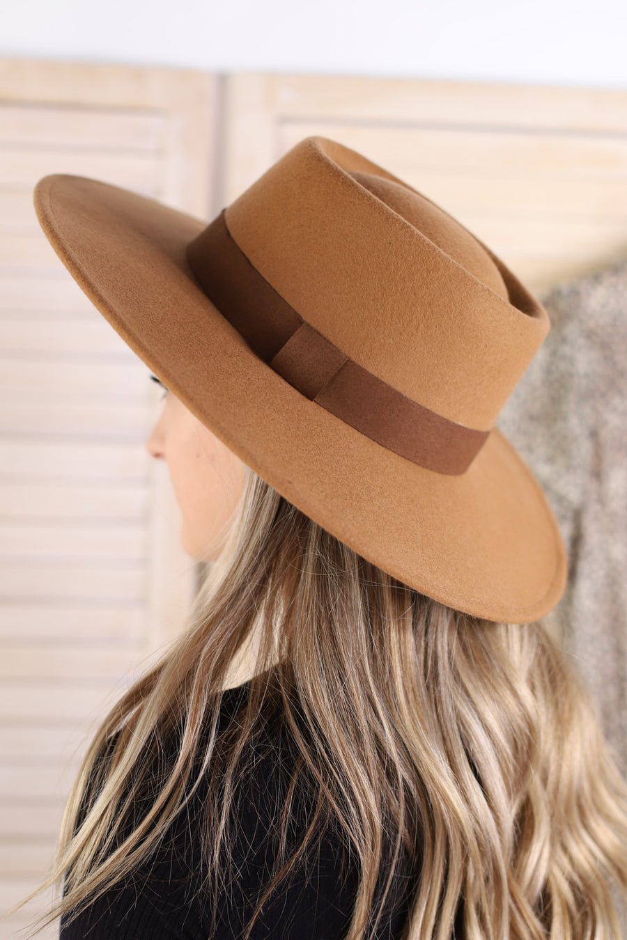Lolita Hat: Brown - ShopSpoiled