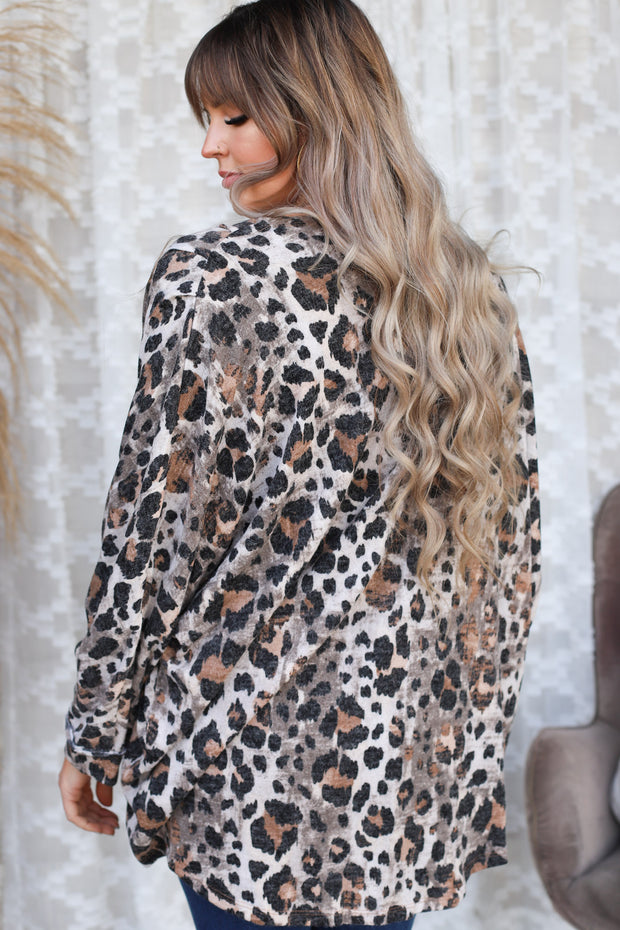 Wont Stop Her Leopard Cardigan - ShopSpoiled