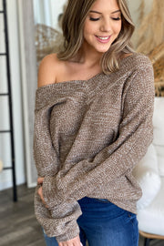Crushing It Sweater: Mocha - ShopSpoiled
