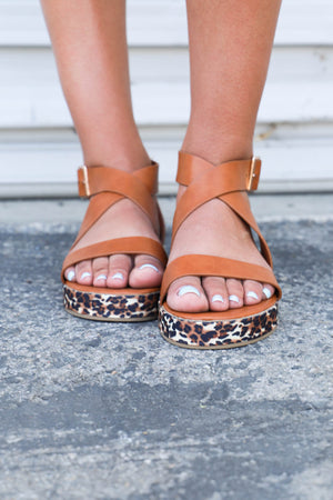 Idolize Platform: Leopard/Tan - ShopSpoiled