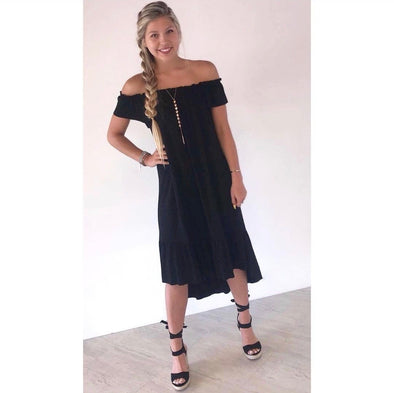 Kristi High-Low Dress - ShopSpoiled