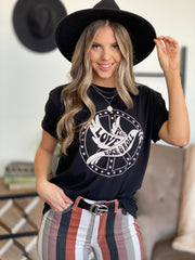 Peace and Love Graphic Tee - ShopSpoiled