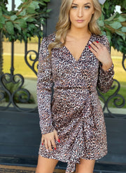 Dance All Night Dress: Cheetah Print - ShopSpoiled