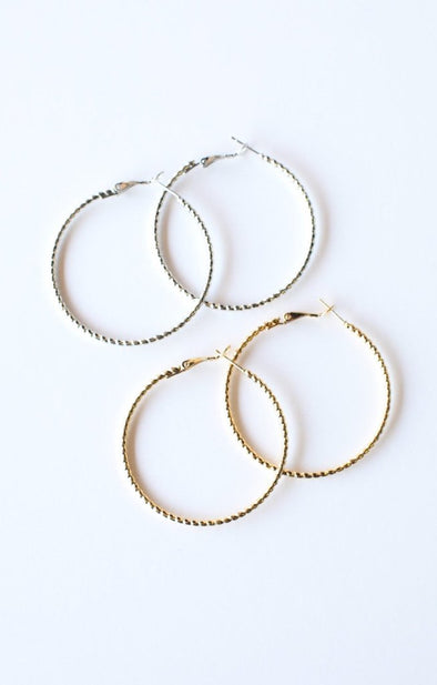 Twisted Hoops - ShopSpoiled