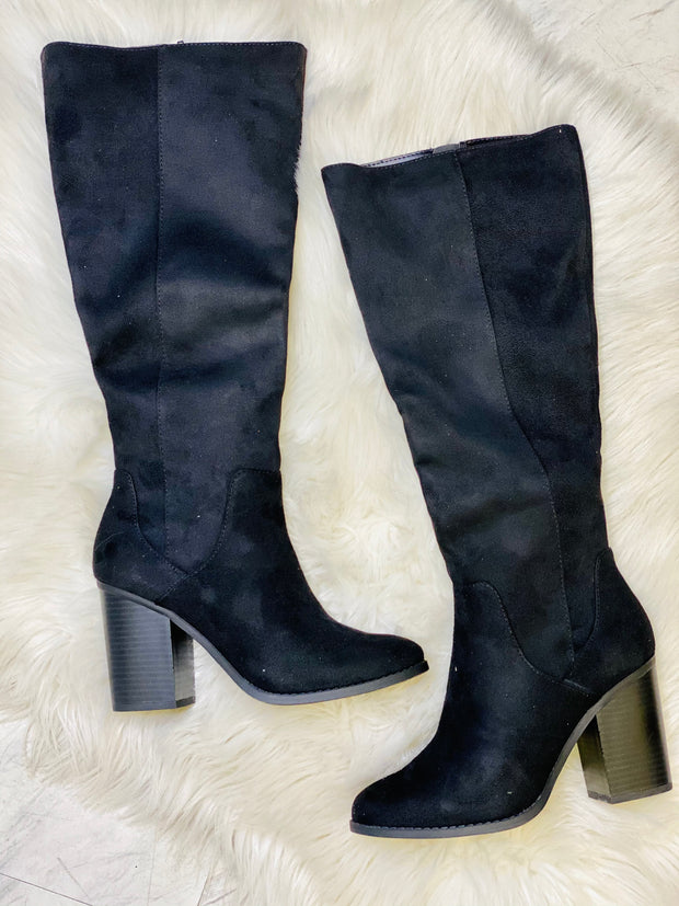 Make A Scene Boots: Black - ShopSpoiled