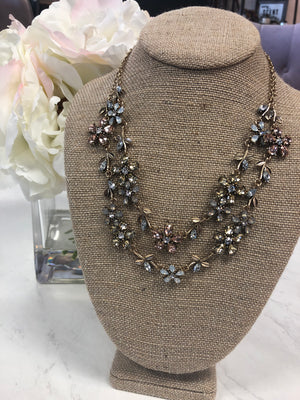 In the Garden Layered Necklace - ShopSpoiled