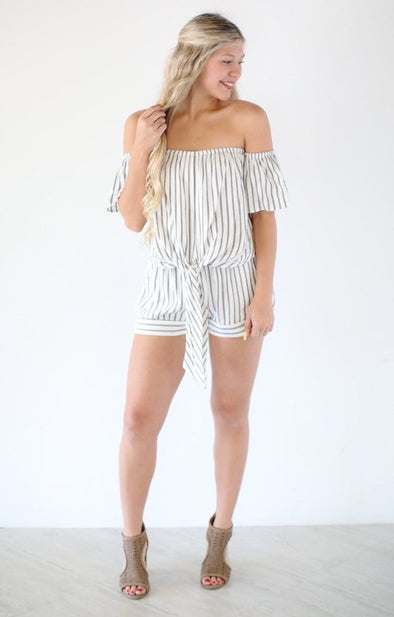 Striped Two Piece Set - ShopSpoiled