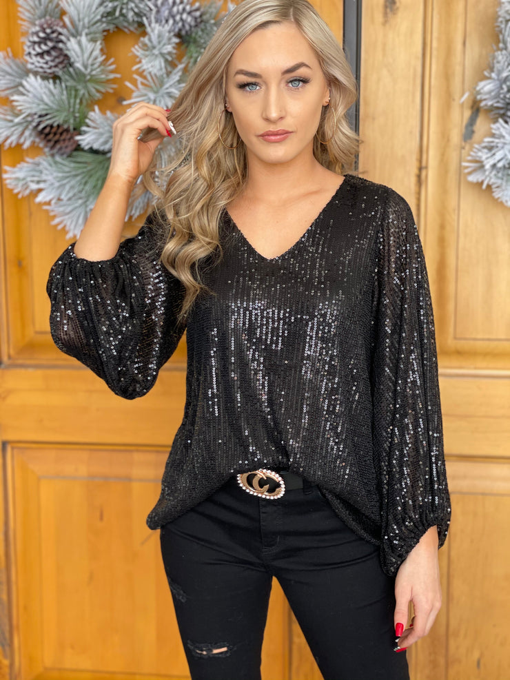 Holiday Lights Top - ShopSpoiled