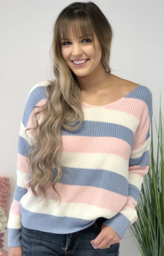 Forget Me Not Sweater - ShopSpoiled